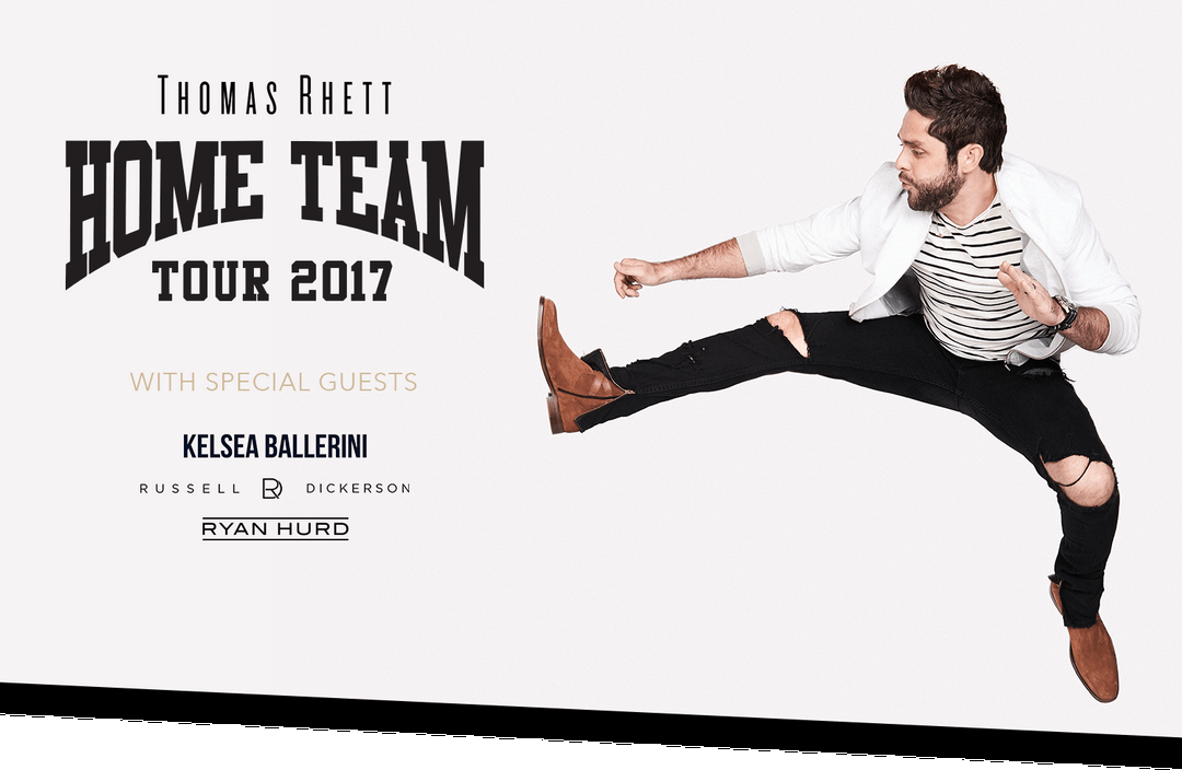 Thomas Rhett Home Team Tour  May
