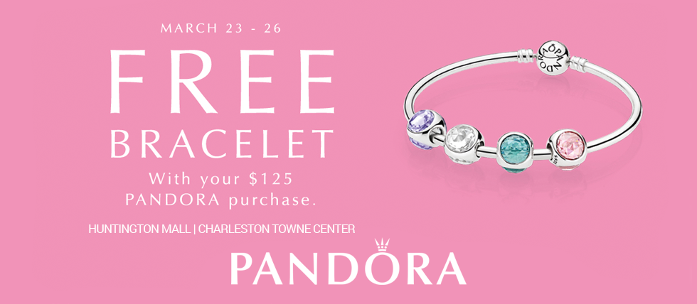 March Bracelet Event At Pandora Jewelry